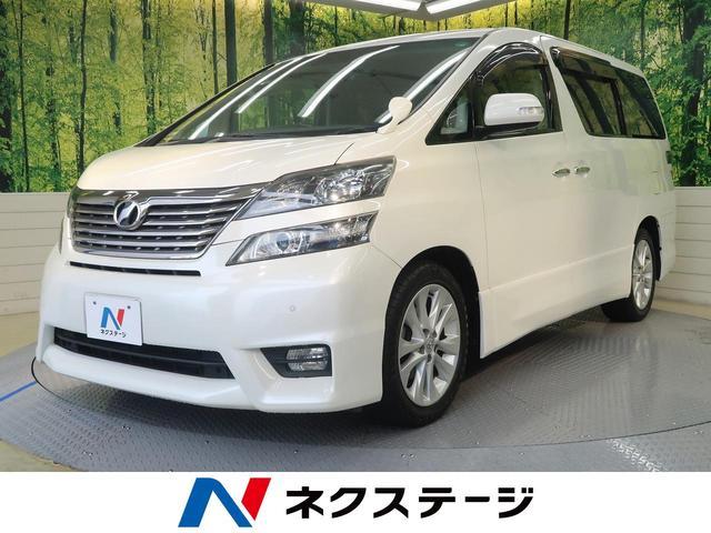 トヨタ 2.4Z 純正HDDナビ 両側電動ドア 後席モニター