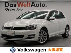 VW ゴルフTSIハイライン 認定中古車・黒革