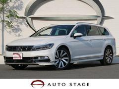 VW パサートヴァリアントTSI Rライン 地デジナビ 衝突軽減 ACC 黒革シート