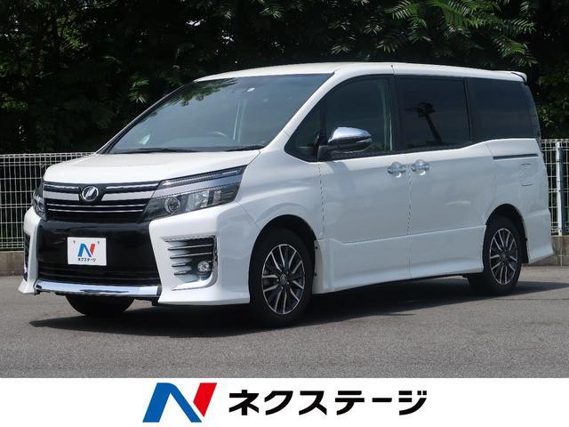 トヨタ ZS 煌II 社外SDナビ 両側電動スライド 禁煙車 8人