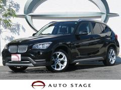 BMW X1sDrive 20i xライン 純正HDDナビ 黒革シート