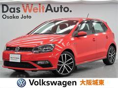 VW ポロGTIベースグレード LEDヘッドライト・純正SDナビ・7速DSG