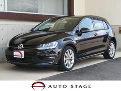 VW ゴルフTSIハイラインブルーモーションテクノロジー 禁煙車 ACC