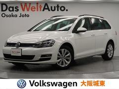 VW ゴルフヴァリアントTSIコンフォートラインブルーモーションテクノロジー ナビ