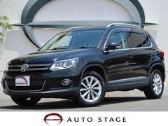 VW ティグアンTSI ブルーモーションテクノロジー 地デジナビ 1オーナー