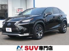 NXNX300h Fスポーツ 4WD 純正SDナビ 黒革 禁煙車