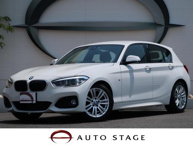 BMW 118i Mスポーツ 純正HDDナビ 衝突軽減装置 1オーナ