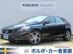 ボルボ V40D4 SE 認定 黒革 純正ナビ/リアビュー インテリセーフ