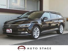 VW パサートヴァリアントTSIハイライン LEDヘッド 茶革 純正OPアルミ 禁煙車
