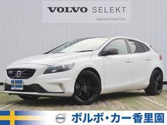 ボルボ V40Rデザイン カーボンED 認定 黒革 カーボンルーフ 限定車
