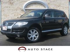 VW トゥアレグV6 CDCエアサスペンション装着 サンルーフ 黒革 後期型