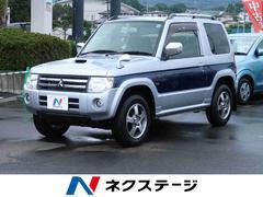 パジェロミニエクシード 4WD ターボ 社外HDDナビ