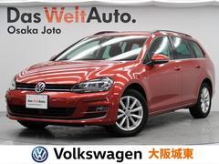 VW ゴルフヴァリアントラウンジ 特別仕様・専用インテリア・希少カラー・純正ナビ