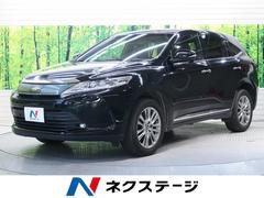 ハリアープレミアム サンルーフ 新品ナビ 4WD