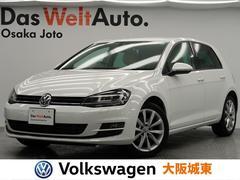 VW ゴルフTSIハイライン ワンオーナー・レーンキープ・純正ナビ・TV