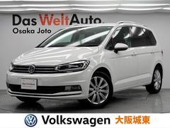 VW ゴルフトゥーランTSI ハイライン 純正ナビ・ACC・Bモニター・LED