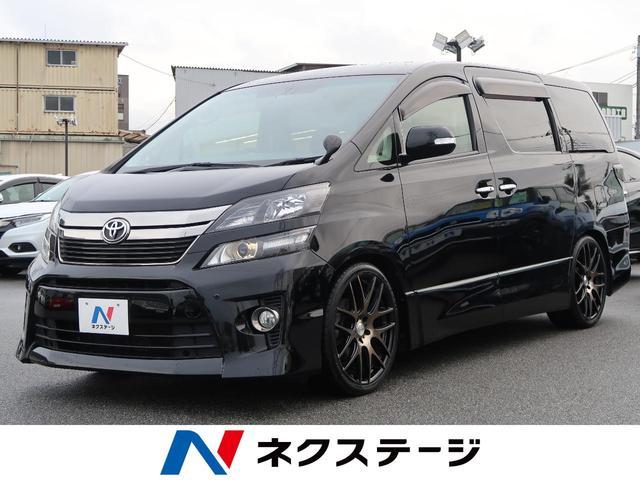 トヨタ 2.4Z ゴールデンアイズ BIGX9型ナビ ローダウン