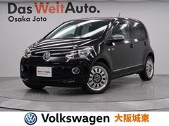 VW アップ!ブラック アップ! 特別限定車・専用AW・ポータブルナビ