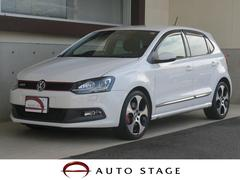 VW ポロGTI 14年モデル 禁煙車 純正ナビ HID パドルシフト