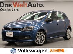 VW ポロブルーGT 限定車・パドルシフト・ナビ・車検有・Bカメラ
