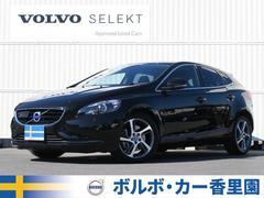 ボルボ V40D4 SE ワンオーナー 黒本革 純正ナビ/Bカメラ HID