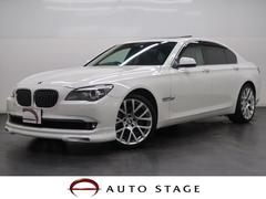 BMW740i 1オーナー 黒革 SR エアロ OP20AW