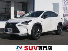 NXNX300h Fスポーツ 黒革 純正SDナビ 禁煙車