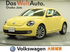 VW ザ・ビートルデザインレザーパッケージ 黒レザーシート・LED・Bカメラ