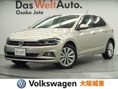 VW ポロTSIハイライン 現行モデル・純正ナビ・衝突軽減ブレーキ
