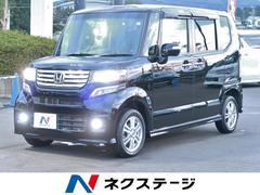 N BOXカスタムG・Lパッケージ 4WD SDナビ 後席モニター フルセグ