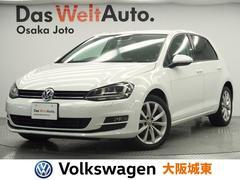 VW ゴルフTSIハイラインBMT ブラウンレザーシート・HIDライト