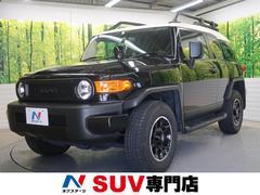 FJクルーザーブラックカラーパッケージ 4WD 純正SDナビ クルコン