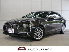 BMW523iラグジュアリー ACC 黒革 ナビ Bカメラ