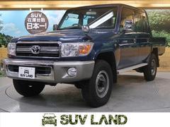 ランドクルーザー70ピックアップ 4WD 5MT 純正SDナビ フルセグ ETC