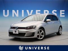 VW ゴルフGTIベースグレード ACC 純正SDナビ バックカメラ ETC