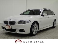 BMW528iツーリング MスポーツPKG 黒革 OP19AW