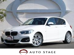BMW118d Mスポーツ 衝突軽減 LEDヘッド 黒革 1オーナ