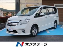 セレナハイウェイスター Vセレクション 4WD車 純正SDナビ