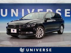 VW パサートヴァリアントTSIエレガンスライン ディスカバープロPKG 1オーナー
