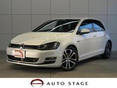 VW ゴルフエディション40 ACC・茶半革・純正ナビ・LED・Bカメラ