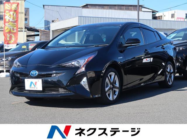 トヨタ Aプレミアム ツーリングセレクション 純正SDナビ 黒革