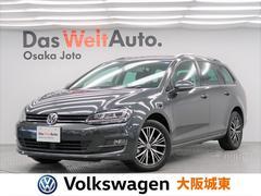 VW ゴルフヴァリアントオールスター ワンオーナー・純正ナビ・Bカメ・ETC