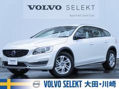 ボルボ V60クロスカントリー D4 SE 認定 16y 白革 純正ナビ