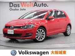 VW ゴルフTSIハイラインブルーモーションテクノロジー ブラックレザー