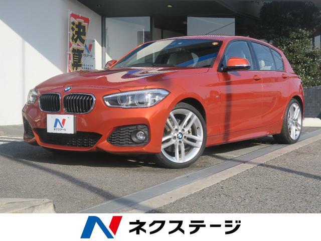 BMW 118i スポーツ 白革シート スポーツモード