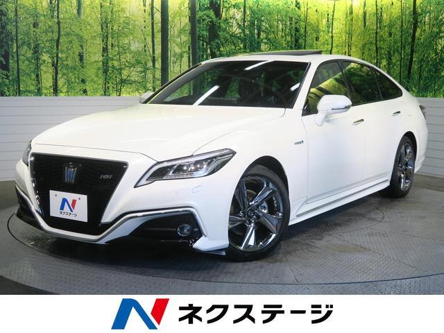 トヨタ RSアドバンス ムーンルーフ 黒革シート セーフティセンス