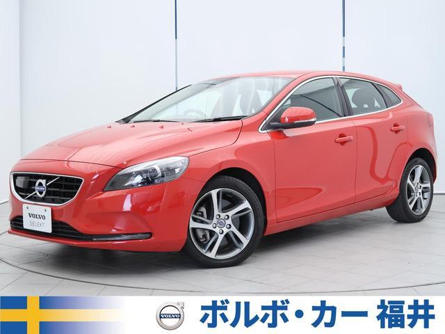 ボルボ D4 SE 認定車 1オーナー 黒革 純正ナビ/リアビュー