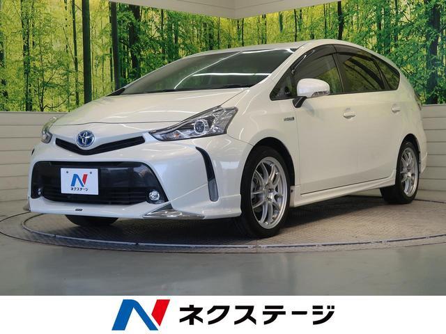 トヨタ S 純正SDナビ フルエアロ バックカメラ