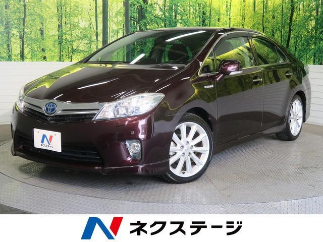 トヨタ G ASパッケージ 衝突軽減 クリアランスソナー 茶革