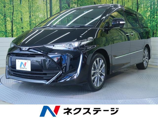 トヨタ アエラス プレミアム 9型ナビ 両側電動ドア 衝突軽減装置